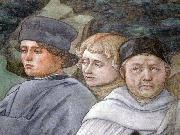 Fra Filippo Lippi Selfportait with pupils china oil painting reproduction