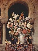 Francesco Hayez Vase of Flowers on the Window of a Harem china oil painting reproduction