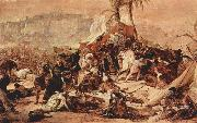 Francesco Hayez The Seventh Crusade against Jerusalem china oil painting reproduction