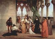 Francesco Hayez The Parting of the Two Foscari china oil painting reproduction