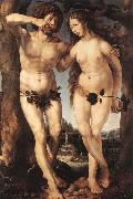 GOSSAERT, Jan (Mabuse) Adam and Eve china oil painting reproduction