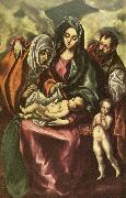 GRECO, El holy family china oil painting reproduction