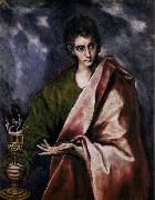 GRECO, El St John the Evangelist china oil painting reproduction