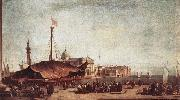 GUARDI, Francesco The Piazzetta china oil painting reproduction
