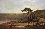 George Inness Lake Albano china oil painting reproduction