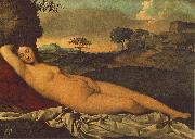 Giorgione Sleeping Venus china oil painting reproduction