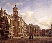 HEYDEN, Jan van der The New Town Hall in Amsterdam after china oil painting reproduction