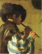 Hendrick ter Brugghen Hendrick ter Brugghen, Flute Player china oil painting reproduction