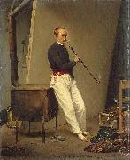Horace Vernet Self portrait china oil painting reproduction