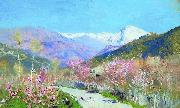 Isaac Levitan Spring in Italy china oil painting reproduction
