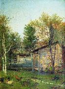 Isaac Levitan Sunny Day china oil painting reproduction