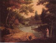 James Peale View on the Wissahickon china oil painting reproduction