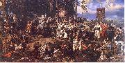 Jan Matejko The Battle of Raclawice, a major battle of the Kosciuszko Uprising china oil painting reproduction