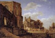 Jan van der Heyden Cathedral Landscape china oil painting reproduction