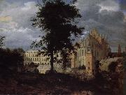Jan van der Heyden Old Palace landscape china oil painting reproduction