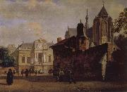 Jan van der Heyden Baroque palaces and the Cathedral china oil painting reproduction