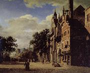 Jan van der Heyden Gothic churches china oil painting reproduction
