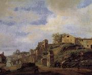 Jan van der Heyden Tiber Island Landscape china oil painting reproduction