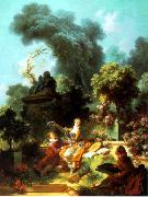 Jean-Honore Fragonard The Lover Crowned china oil painting reproduction