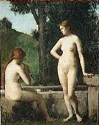 Jean-Jacques Henner Idylle china oil painting reproduction