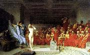 Jean-Leon Gerome Phryne before the Areopagus, china oil painting reproduction