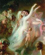 Konstantin Makovsky Charon transfers the souls of deads over the Stix river china oil painting reproduction
