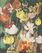 Maurice Prendergast Spring Flowers china oil painting reproduction