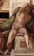 Michelangelo Buonarroti Ignudo china oil painting reproduction