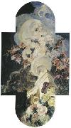 Mikhail Vrubel Chrysanthemums, 1894 china oil painting reproduction