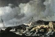 PEETERS, Bonaventura the Elder Storm on the Sea china oil painting reproduction
