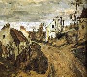 Paul Cezanne Village de sac china oil painting reproduction