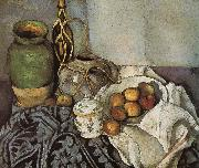 Paul Cezanne bottle of still life of fruit china oil painting reproduction