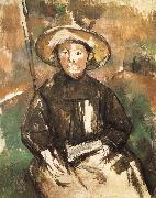 Paul Cezanne children wearing straw hat china oil painting reproduction