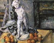 Paul Cezanne God of Love plaster figure likely still life china oil painting reproduction