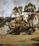 Paul Cezanne doctor s house china oil painting reproduction