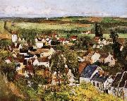 Paul Cezanne village panorama china oil painting reproduction