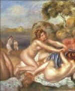 Pierre-Auguste Renoir Three Bathers, china oil painting reproduction