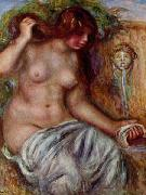 Pierre-Auguste Renoir Woman At The Well, china oil painting reproduction