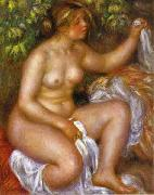 Pierre-Auguste Renoir After The Bath china oil painting reproduction