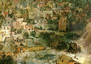 Pieter Bruegel detalj fran babels torn china oil painting reproduction