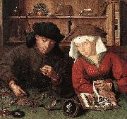 Quentin Matsys The Moneylender and his Wife china oil painting reproduction