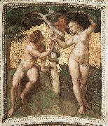 RAFFAELLO Sanzio Adam and Eve china oil painting reproduction