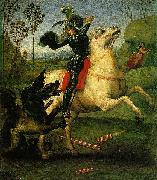 Raphael Saint George and the Dragon, a small work china oil painting reproduction