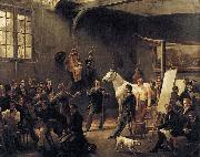 VERNET, Claude-Joseph The Artist's Studio china oil painting reproduction