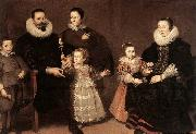 VOS, Cornelis de Family Portrait china oil painting reproduction