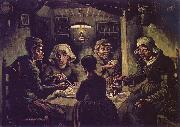 Vincent Van Gogh The Potato Eaters china oil painting reproduction