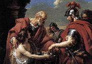 VERNET, Claude-Joseph Belisarius china oil painting reproduction