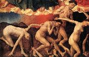 WEYDEN, Rogier van der The Last Judgment china oil painting reproduction