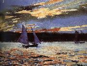 Winslow Homer Gera sunset scene china oil painting reproduction