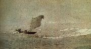 Winslow Homer Vessels away by strong wind china oil painting reproduction
